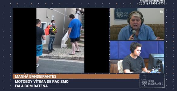 Entrevista com motoboy humilhado em Valinhos