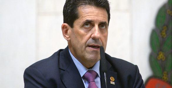 Delegado Olim, responsável pela prisão de Mizael Bispo