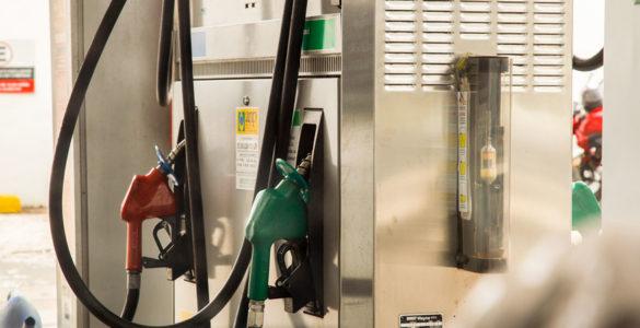 Posto de combustível nova gasolina