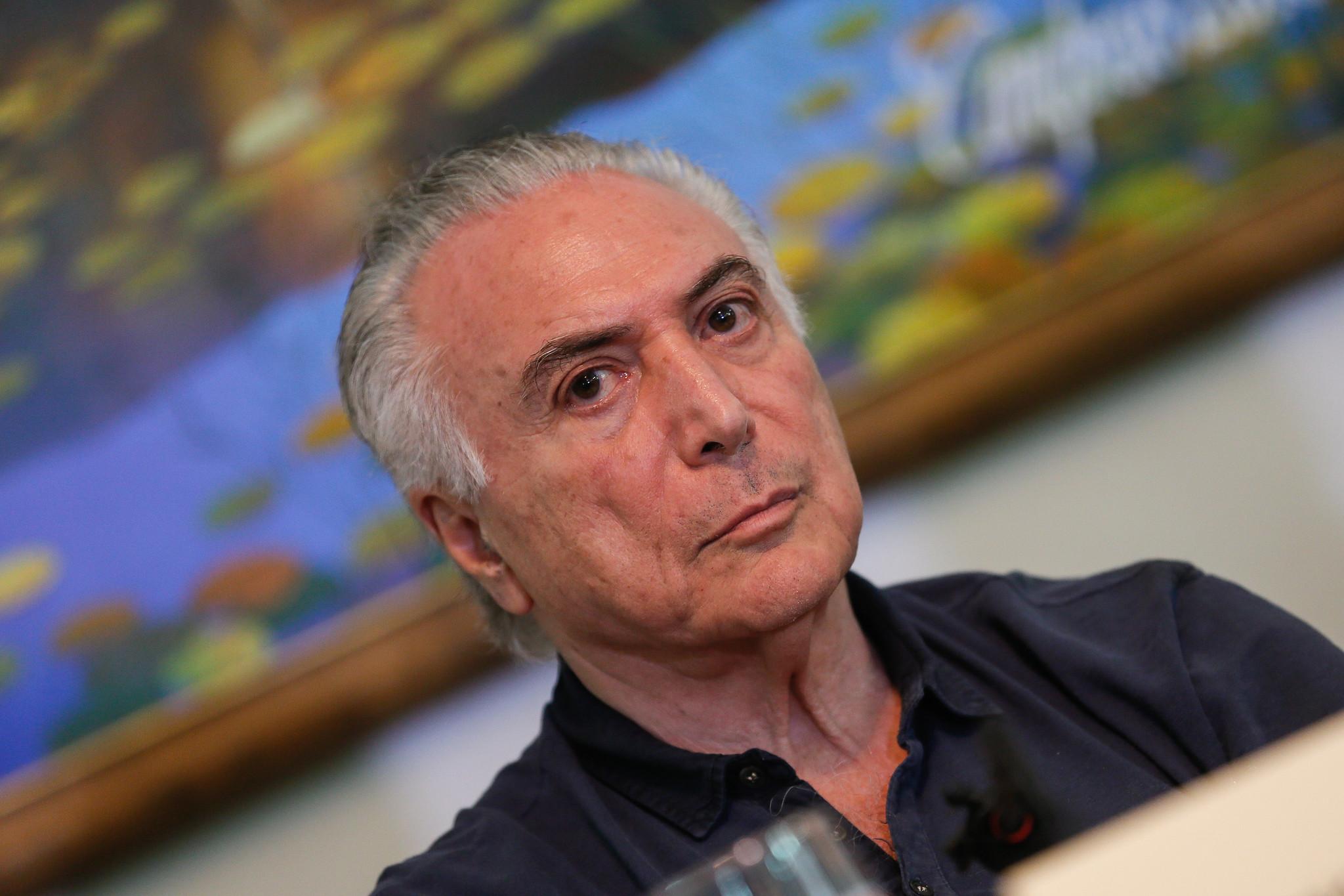 """Temer """"não vê clima"""" para impeachment de Bolsonaro e diz que CPI """"cria tumulto"""""""