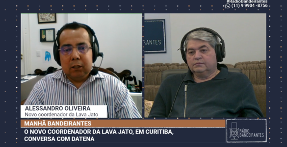 Substituto de Deltan na Lava Jato, Alessandro Oliveira
