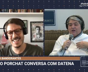 Datena entrevista Fabio Porchat