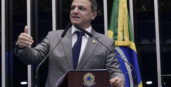 senador Márcio Bittar (MDB-AC), relator do Orçamento 2021