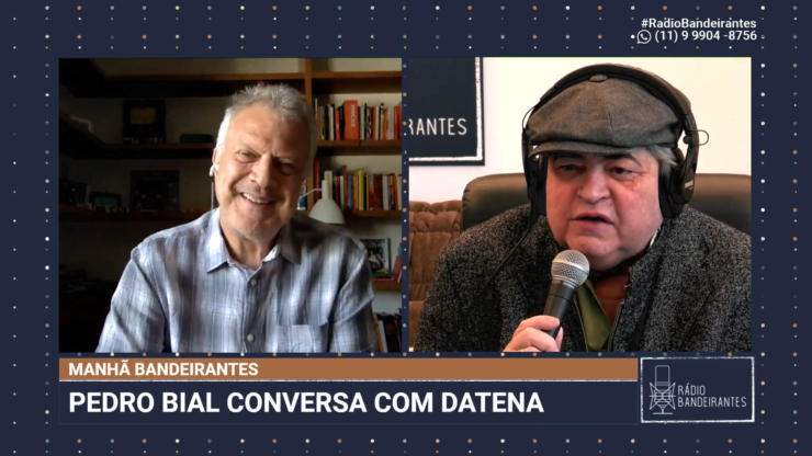 Pedro Bial e Datena