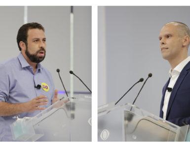 Bruno Covas e Guilherme Boulos