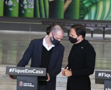 Bruno Covas e João Doria