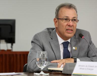 O ministro de Minas e Energia, Almirante Bento Albuquerque