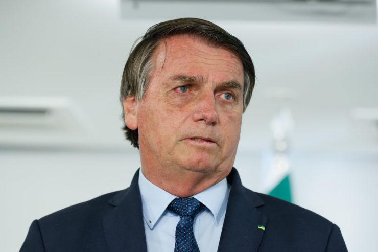 Bolsonaro falou sobre denúncias ao filho
