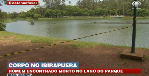Corpo é encontrado dentro do lago do Parque Ibirapuera em SP