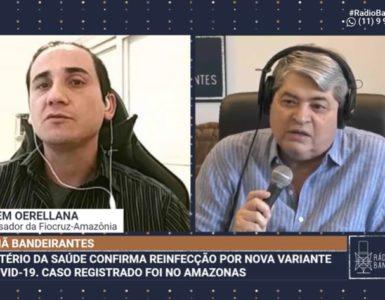 Jessem Oerellana, pesquisador da Fiocruz Amazônia
