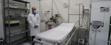 Leito de UTI em hospital
