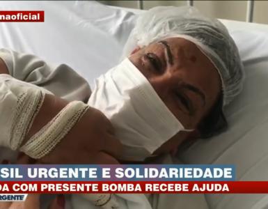 Edileuza, vítima de presente-bomba