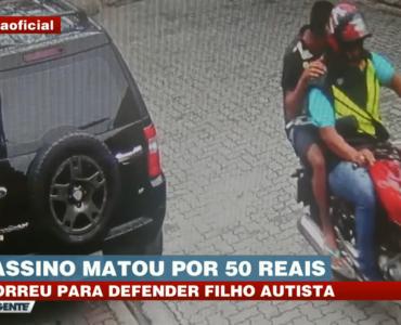 Polícia prende assaltante que matou pai de rapaz autista por R$ 50