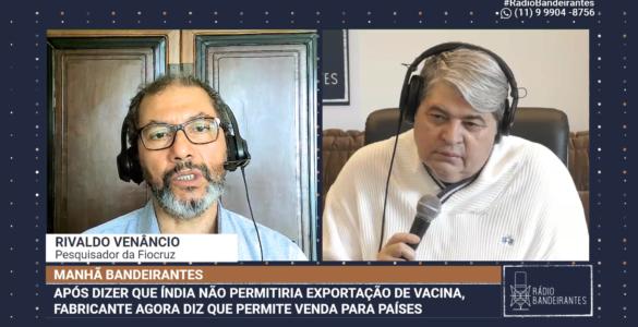 Rivaldo Venâncio, pesquisador da Fiocruz