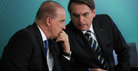 Onyx Lorenzoni e Jair Bolsonaro