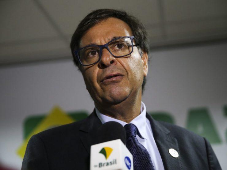 O ministro do Turismo, Gilson Machado Neto