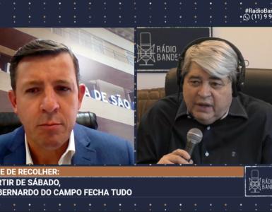 Orlando Morando, prefeito de São Bernardo do Campo