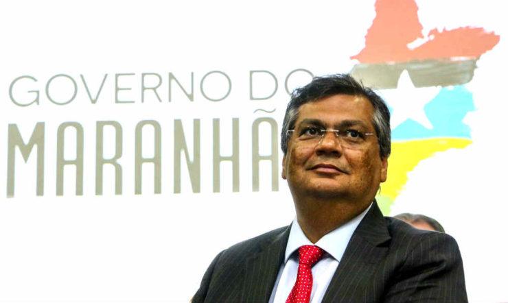 O governador do Maranhão, Flávio Dino (PCdoB)