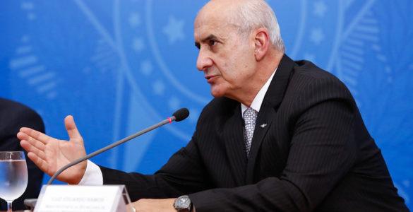 O ministro da Secretaria de Governo, Luiz Eduardo Ramos