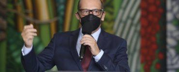 O diretor do Instituto Butantan, Dimas Covas