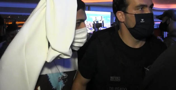 Gabigol foi pego em cassino clandestino de São Paulo