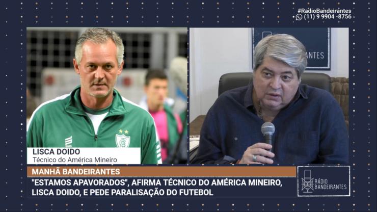 Técnico Lisca pede para CBF adiar a Copa do Brasil