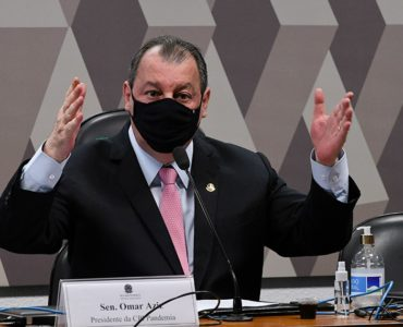 Senador Omar Aziz, presidente da CPI da Covid
