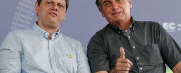 Tarcísio Gomes de Freitas e Jair Bolsonaro