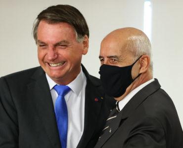 Presidente Jair Bolsonaro e ministro da Casa Civil, general Ramos