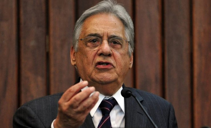 O ex-presidente Fernando Henrique Cardoso, FHC