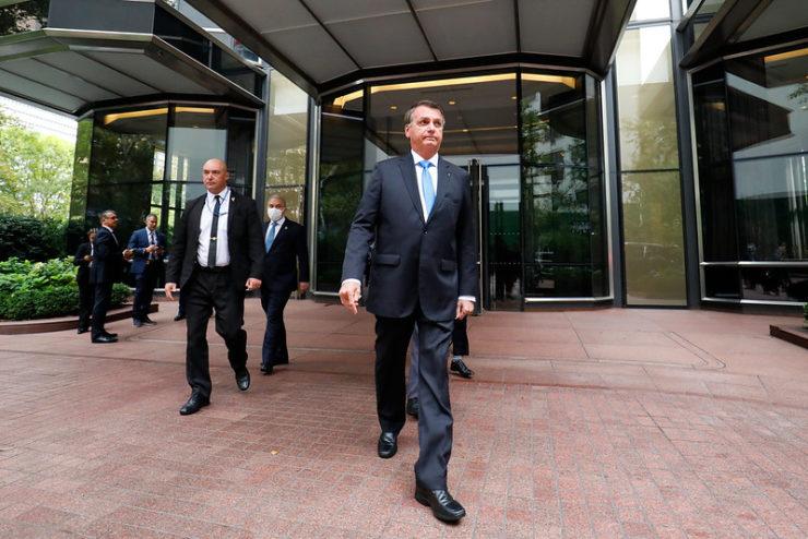 Bolsonaro em Nova York