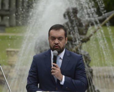 O governador do Rio de Janeiro, Cláudio Castro