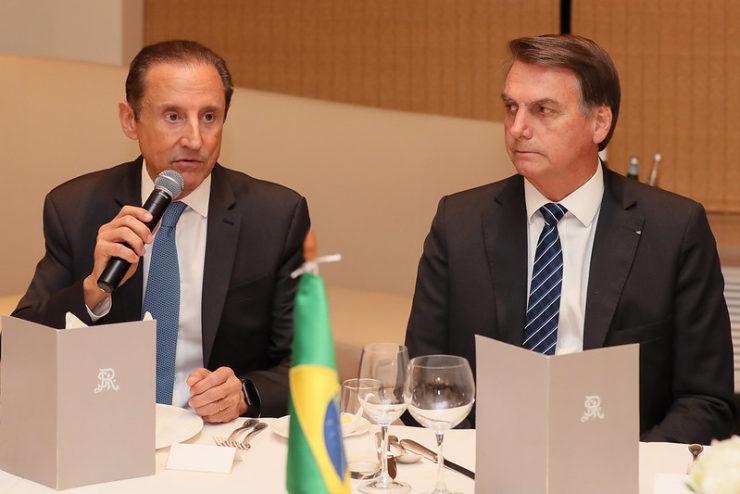 Skaf e Bolsonaro
